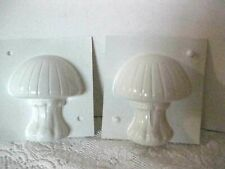 Vintage 1970's Mushroom Candle Mold Natcol #cm-110 NEW 2 piece BB1