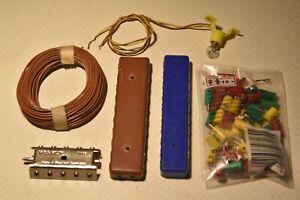 elektrisches Zubehör (Kabel,Verteilerplatten,Stecker/Muffen,Bel.-Sockel), einzel