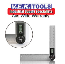 TREND TOOLS 200MM DIGITAL STAINLESS STEEL ANGLE RULE-CARPENTRY,BUILDING,JOINERY