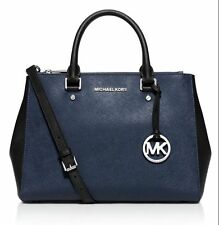 NWT MICHAEL MICHAEL KORS Sutton Color Block Medium Saffiano Leather Satchel $328