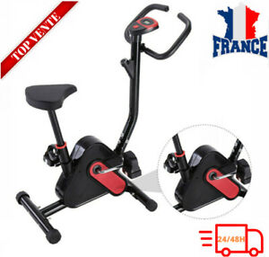BESPORTBLE Velo d'appartement support frequence cardiaque roue d'inertie 8kg