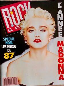 Magazine ROCK & FOLK n°248 Janvier 1988 Spécial 1987, Sting
