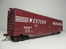 Atlas WESTERN MARYLAND  50' Smooth Side Single Door Box Car  NIB FREE Shipping