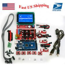 3D Printer Kit RAMPS 1.4 Mega2560 12864 LCD Controller A4988 for Arduino Reprap