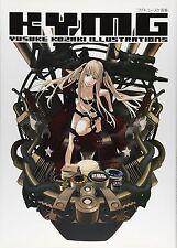 "JAPAN Yusuke Kozaki Art Book ""KYMG"" Speed Grapher,No More Heroes"