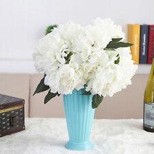 Artificial Fake Peony Silk Flower Bridal Hydrangea Home Wedding Garden Decor