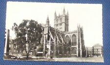 BATH ABBEY FROM THE NORTH EAST REAL PHOTOGRAPH