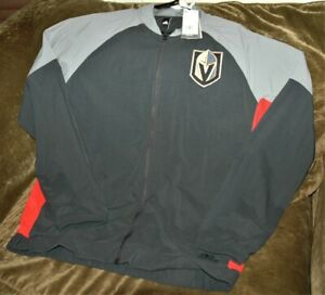 Las Vegas Golden Knights Bomber jacket men's large New w tags Adidas Climalite