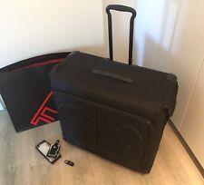 Tumi Alpha 2 Kleidersack auf 2 Rollen, Trolley Koffer schwarz ORIGINAL Neuwertig