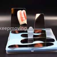 4 Pcs Stainless Steel  Dental Oral Orthodontic Photography Mirror Reflector