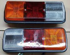 UNIVERSAL 12V Trailer Truck Van T Lights Rear Stop Indicator Reverse Lamps 2 Pcs