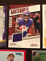 Irv Smith Jr RC 2019 Panini Absolute Football Rookie Materials RC -READ (LOT)