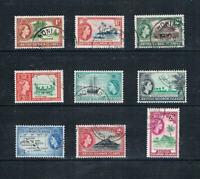 Solomon Is - 1963-64 QEII Scenes of Islands - SC 113-125 [SG 103-111] USED 20 E