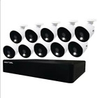 Night Owl 12 Channel 4K Wired Security System with 2TB Hard Drive and 10 Wired …