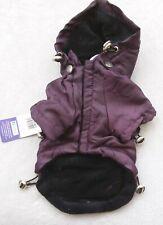Pooch Couture Resistente al Agua Mac Perro Abrigo de Lluvia Reversible Talla S