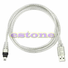 NEW 5ft USB To Firewire iEEE 1394 4 Pin iLink Adapter Cable High Quality