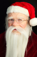"Silicone Mask ""Santa Claus"" High Quality, Realistic, Hand Made, Halloween"