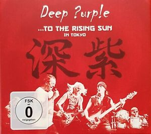 Deep Purple ....To The Rising Sun In Tokyo 2 Cd/Dvd Set New. Not Sealed