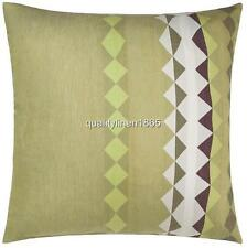 Linen House Maxicali Olive European Pillowcase One ONLY 65 x 65 cm