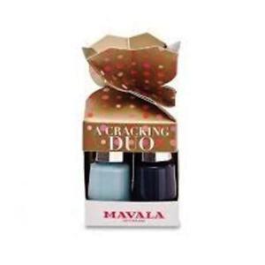 Mavala Cracking Duo Christmas Cracker Nail Polish brand new