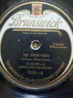 Al Jolson With Isham Jones Orchestra Mr. Radio Man 78