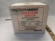 New in box Omega SW 142-10-B Rotary switch 10 positions for thermocouples & RTD