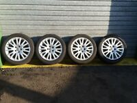 "AUDI A4 B7 2.0 TDI 2008 - SET OF 17"" INCH ALLOYS WHEELS  235/45/R17"