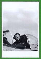 Rudolf Falkowski DECEASED WWII Polish RAF Fighter Pilot Signed 4x6 Photo E17054