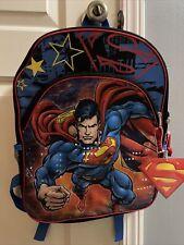superhero backpack With Tags Mild Wear From Storage. Vintage Backpack Superhero