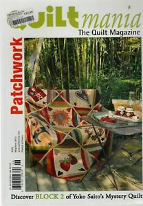 Quiltmania - the Quilt Magazine - French Patchwork Magazine (in English) - No 89