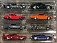 Mattel Hot Wheels New Fast & Furious Set Of 8