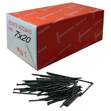 Gruppini punte chiodi in acciaio 7x20 - 7x30 - 10x40 mm da 1 kg chiodo groppino
