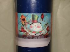 New Magnetic Mailbox Cover Snowman Birds Bird House Holiday Jeffrey Allen