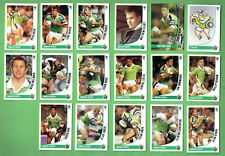 2003 NEWSPAPER  RUGBY LEAGUE CARDS - CANBERRA RAIDERS