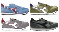 DIADORA K RUN II 170823 scarpe uomo sportive sneakers camoscio trainer running