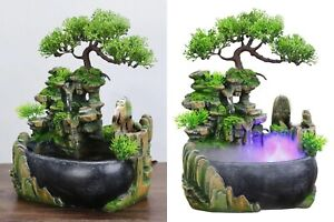 Wealth Feng Shui Company Office Tabletop Ornaments Flowing Waterfall Fountain