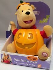 "Disney Gemmy 2004 Halloween Winnie the Pooh Singing ""Rumbly in My Tumbly"" Rare"