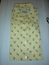NWT Vintage 1970's Brigade Men's Shirt in Package 16-33 Large Pointed Collar