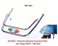 01170/C Protezione Cromata Parafango FACO per Piaggio Vespa PX/PE 125/150/200