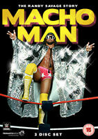 WWE: Macho Man - The Randy Savage Story DVD (2014) Randy Savage cert 15 3 discs