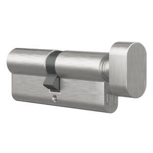 Knaufzylinder Profilzylinder Zylinderschloss Knaufschloss 3 Schlüsseln Silber