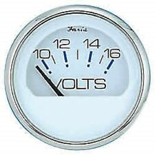 Faria Professional Red Gauge Voltmeter 10-16 VDC 14605 MD