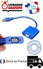 CABLE ADAPTATEUR CONVERTISSEUR MULTI-AFFICHAGE USB 3.0 / VGA FEMELLE