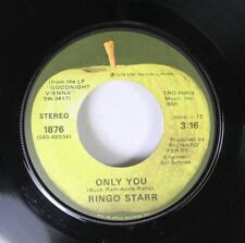 Rock 45 Ringo Starr - Only You / Call Me On Emi Records Limited