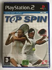 PS2 Top Spin (2005), UK Pal, Brand New & Factory Sealed