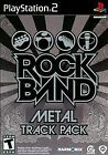 Rock Band Metal Track Pack SEALED COMPLETE Sony PlayStation 2 PS PS2 GAME
