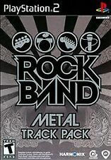 PS2 SIMULATION-ROCK BAND METAL TRACK PACK-NLA PS2 NEW