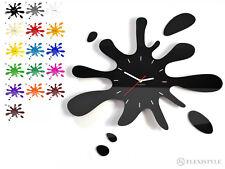 Grande orologio da parete moderno LA MACCHIA, 15 colori, silenzioso, made in EU