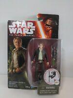 "Hasbro Star Wars The Force Awakens HAN SOLO 3.75"" figure Jungle Mission NEW"