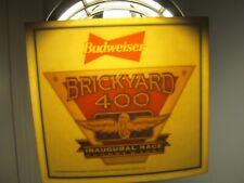 BRICKYARD 400 INAUGURAL NASCAR RACE 1994 BUDWEISER DECAL NEW